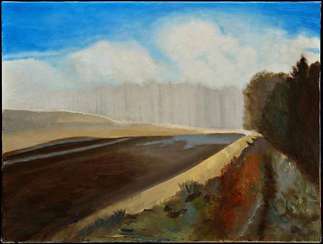 Autumn Field by Gloria Cigolini-DePietro
