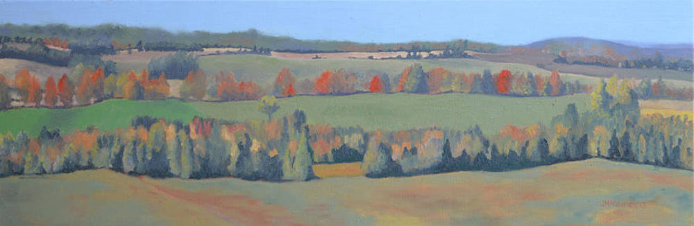 Autumn Fields by Joan McGivney
