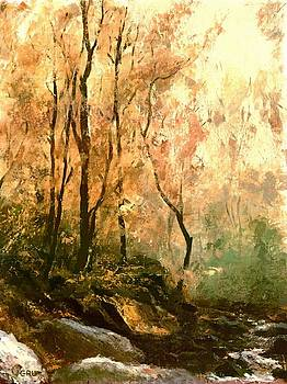 G Linsenmayer - AUTUMN FOREST BALTIMORE MARYLAND