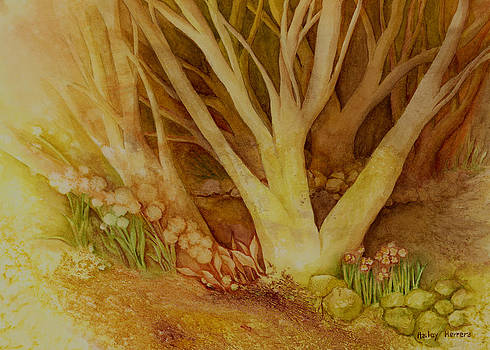 Hailey E Herrera - Autumn Forest