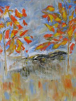 Autumn by Galina Khlupina