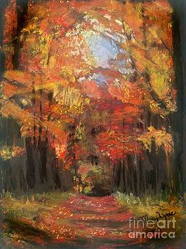 Autumn Glow by Mary Lynne Powers