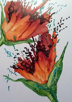 Autumn Gold III by Donna Pierce-Clark