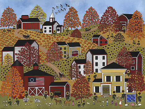 Autumn Hills by Medana Gabbard
