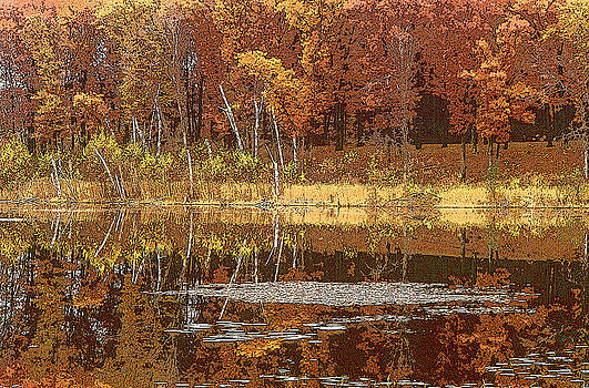 Autumn Hues Yellow by Jon Lord