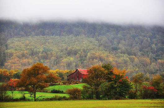 Autumn in Grassy Cove by Heather Bridenstine