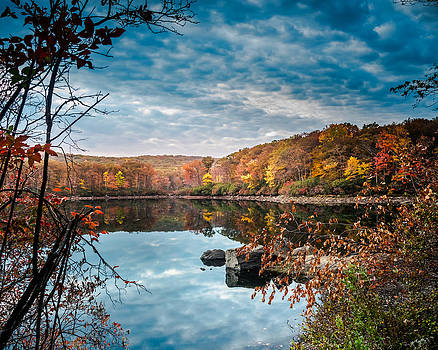 Autumn in Harriman State Park by Jim DeLillo