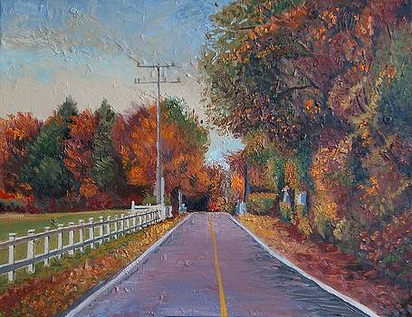 Autumn in Quebec by Efim Melnik