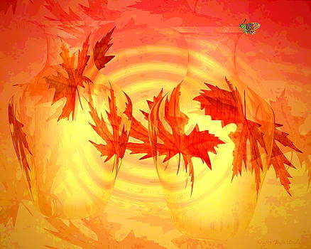 Joyce Dickens - Autumn In Red And Yellow Five
