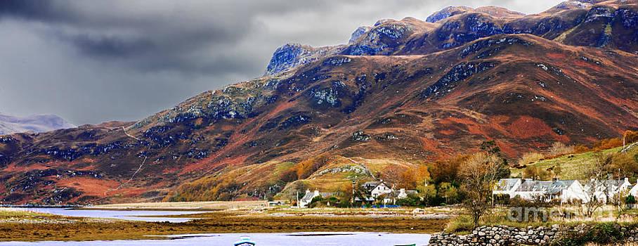 Autumn in Scotland in Dornie by Lilianna Sokolowska