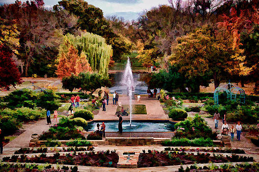 Autumn in the Gardens by Janet Maloy