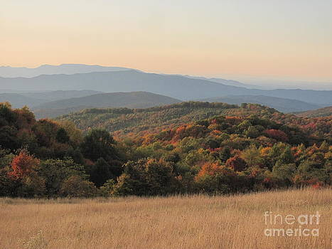 Autumn in the Smokies by Anita Adams