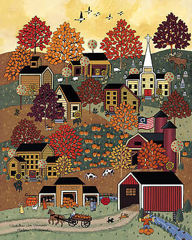 Autumn In Vermont by Medana Gabbard