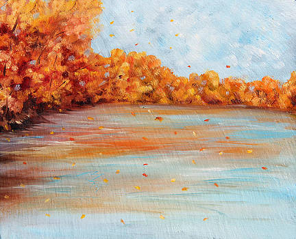 Autumn Lake by Meaghan Troup