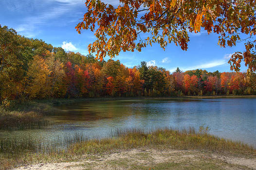 Autumn Lake by Megan Noble