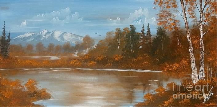 Autumn Landscape 2 by Collin A Clarke