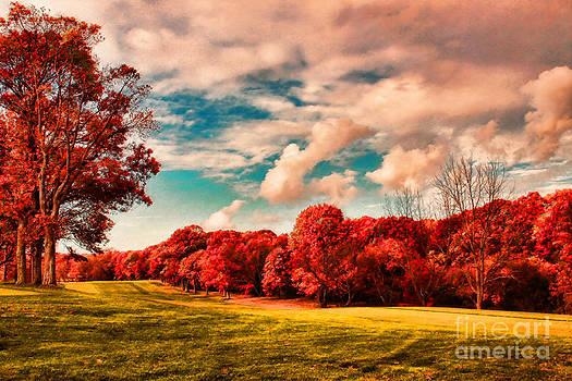 Autumn Landscape by Jeff Breiman