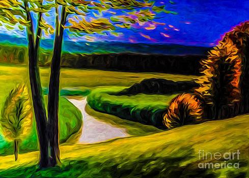 Algirdas Lukas - Autumn Landscape Stylization 5