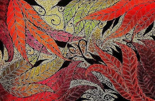 Autumn Leaves by Amanda Copenhaver