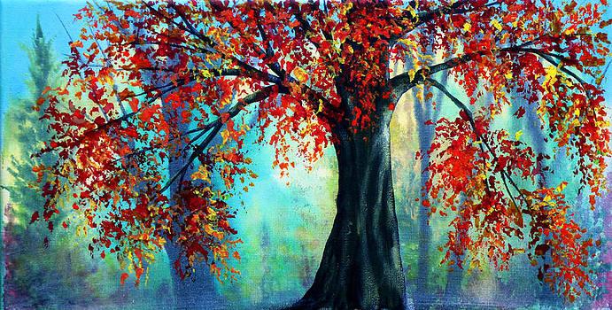 Autumn Leaves by Ann Marie Bone