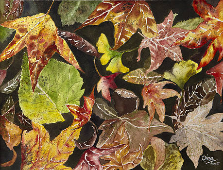 Autumn Leaves by Rina Bhabra