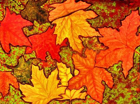 Autumn Leaves by Victoria Rhodehouse