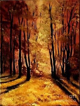 Autumn Light  by Liana Horbaniuc