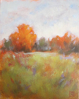 Autumn Mist by Mary Brooking