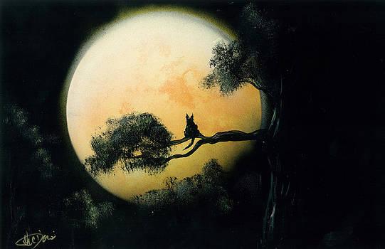 Autumn Moon by Thomas DOrsi