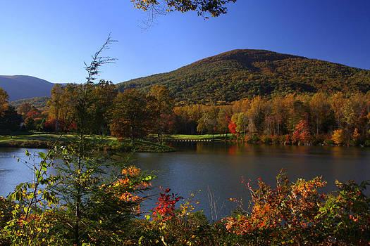 Anne Barkley - Autumn Mountain View