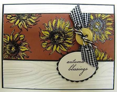 Autumn Note Card by Cheryl Depler