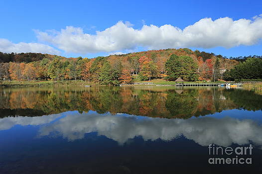 Autumn on the Lake by Brenda Schwartz