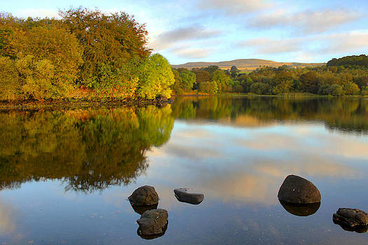 Autumn on the Loch by Catherine Perkinton