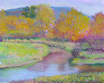Autumn on the Marsh by Denise Wagner