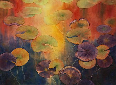 Autumn on Winslow Lake by Johanna Axelrod