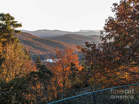 Jaclyn Hughes Fine Art - Autumn Parkway View