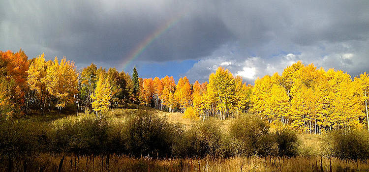 Autumn Rainbow by Bob Berwyn