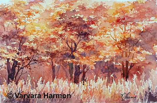 Autumn Red by Varvara Harmon