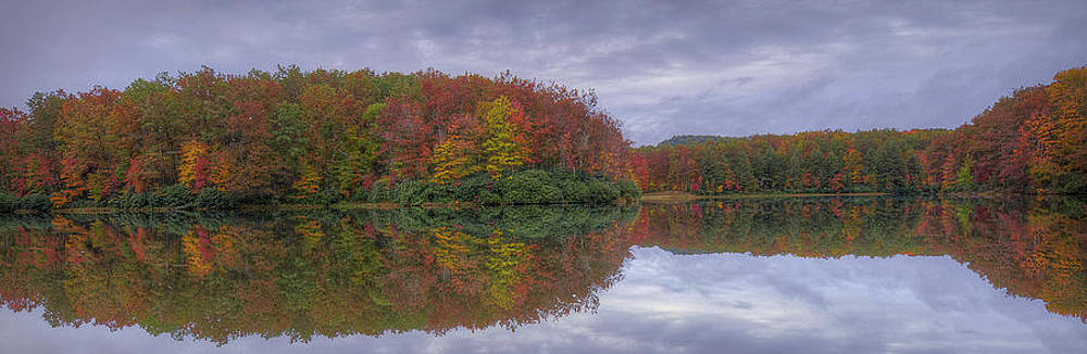 Autumn Reflection by Michael Donahue