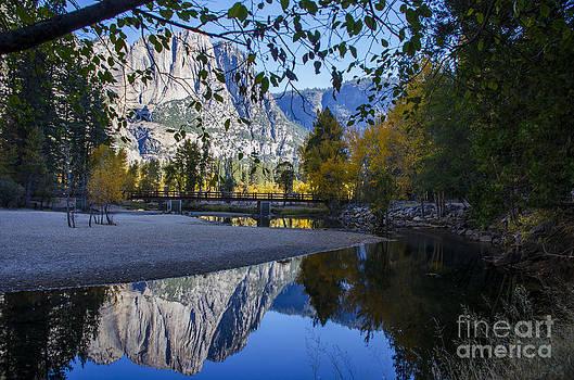 Autumn Reflection  by Nicole Markmann Nelson