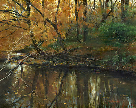 Autumn reflection by Victor Mordasov
