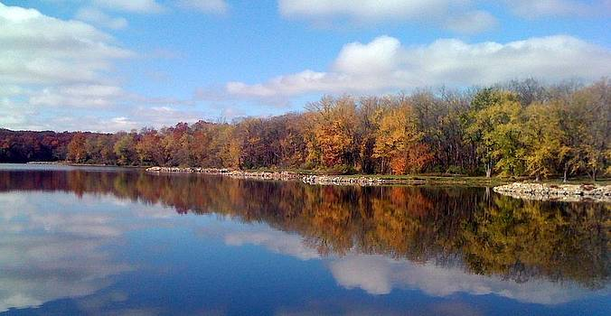 Autumn Reflections by Jerry Browning