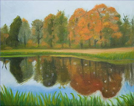 Autumn Reflections by Stephen Degan