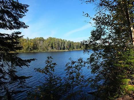 Autumn Reservoir by Gene Cyr