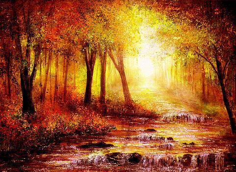 Autumn River by Ann Marie Bone