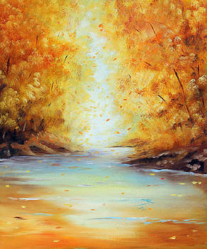 Autumn River by Meaghan Troup