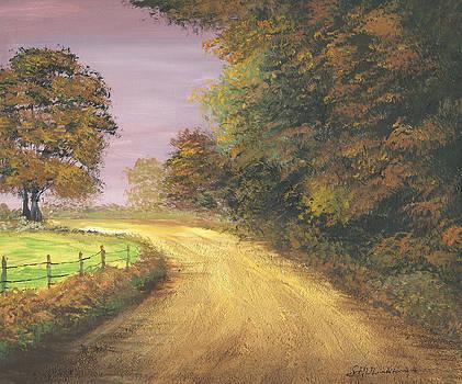 Autumn Road by Harold Shull