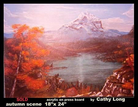 Autumn Scene by Cathy Long