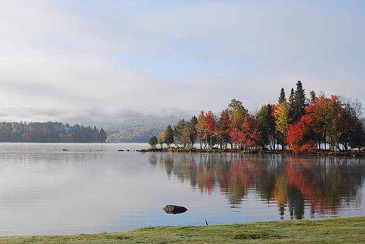 Autumn scenery by Suzanne Blais