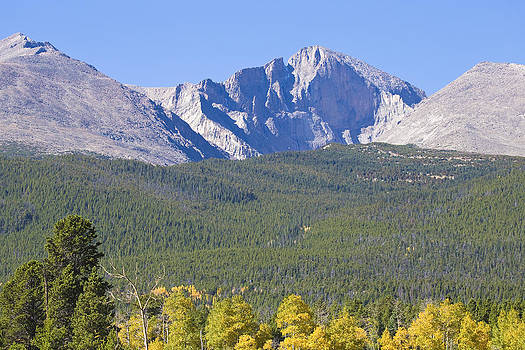 James BO  Insogna - Autumn Season View of CO Rocky Mountains Longs Peak